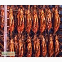 Копченая рыба, мясо, сало