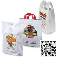 Пакеты банан, майка, петля, полиэтиленовые с печатью логотипа