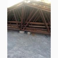 Фермы металлические 13.2м