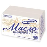 Масло сливочное «Крестьянское» 73%