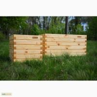 Ящики для цветов, растений, ограждения для клумб высокие грядки Organic Box купить Киев
