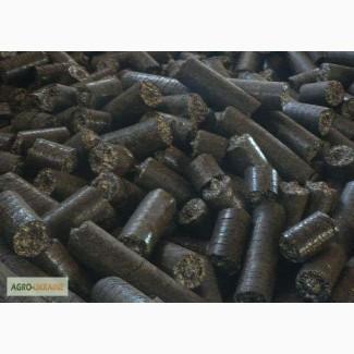 Брикеты из лузги подсолнечника, от завода производителя