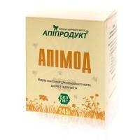 Апімод (мед, бджолине маточне молочко, насичений екстракт ехінацеї, квитковий пилок)