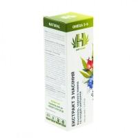 Масляный экстракт HopHemp черного тмина, шиповника и семян пищевой конопли, 100 мл