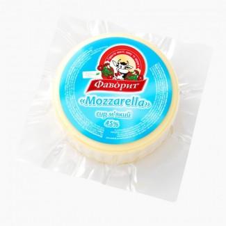 Сыр мягкий Mozarella 45% ТМ Фаворит