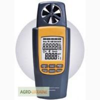 Анемометр SR8022 с функией измерения температуры и объёма воздушного потока (0.4-20 m/s)