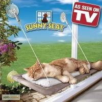 Спальное место для кошки - кровать, лежанка оконная Sunny Seat Window