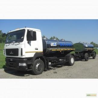 Продам новий молоковоз АЦИП-7, 7 на шасі МАЗ
