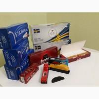 Продам гильзы для забивки сигарет и табак