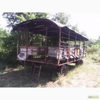 Продам пчелопавильон на базе прицепа 2-ПТС4