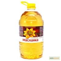 Продам олію Маслинка в 5л бутлях рафіновану