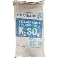 Сульфат калия, 25 кг K2O-50-52%. S-18%, мешок 25кг