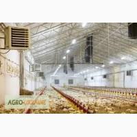 Система вентиляции для птицефабрик, б/у система вентиляции для птичников