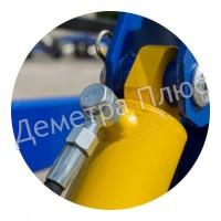 Фронтальный погрузчик КУН (для тракторов МТЗ, ЮМЗ, Т-40)