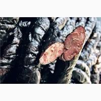 Домашняя колбаса (ковбаса) Черная 100% натуральная Старинный рецепт