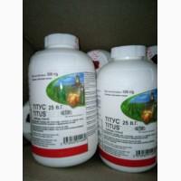 Гербіцид Тітус для кукурузи, томатів, картоплі римсульфурон 250 г/кг, норма 50грам/га