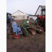 Дискова борона з гумовим валом / ширина 3 метри, обприскувач зернових