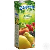 Сок Садочок витаминизированный, 0.95л