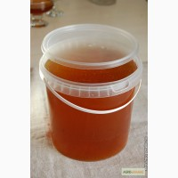 Банка (ведро) 1 литр с герметической крышкой для мёда