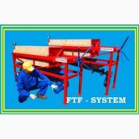 Фільтр рослинних олій. FTF-system. Фільтрація рослинних олій