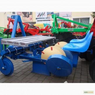 Розсадосаджалка 2 рядкова Agromax Польща
