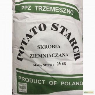 Крахмал картофельный Польша