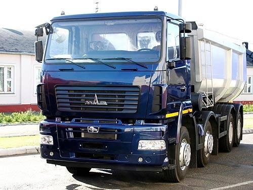 РУП МАЗ и «Группа ГАЗ» выводят на рынок новые модели техники | 375x500