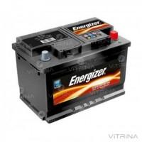 Аккумулятор ENERGIZER 45Ah-12v (207х175х190) со стандартными клеммами | R, EN400 (Европа)