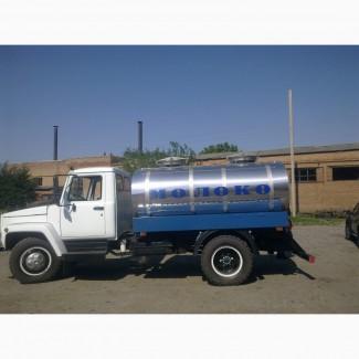 Молоковоз на шасси ГАЗ-3309( газон)