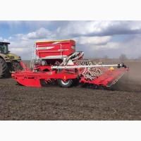 Посев рапса, пшеницы, ячменя с внесением удобрений