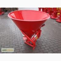 Разбрасыватель селитры, удобрений 500 л (металический)