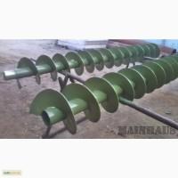 Шнековая спираль для удобрений (шнек), диаметр - 200 мм, толщина 3мм. 1200грн./м.пог