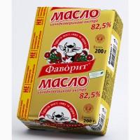 Масло сливочное Фаворит