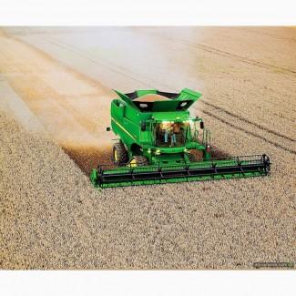 600 га пшеницы, 600 га подсолнуха в Львовской обл найму комбайн, работа на комбайн