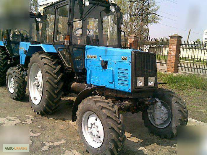 Трактор МТЗ-920 (Беларус): описание и конструктивные.