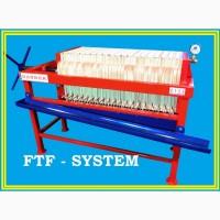 Фильтр рамочный, напорный. FTF-system