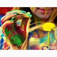 Натуральные безвредные порошковые краски Холи (Гулал), опт и розница