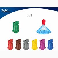Розпилювач Teejet TTI. Розпилення - інжектоване повітрям