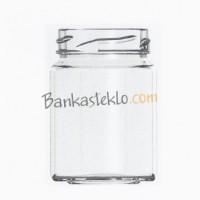 Банка стеклянная твист 111 мл. / 0, 111 л. ТО 48