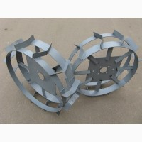 Грунтозацепы, колёса металлические с зацепами