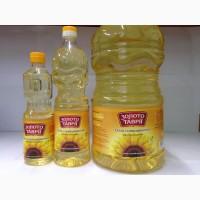 Олія соняшникова рафінована, Золото Таврії, 0, 489л, 1л, 5л