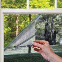Солнцезащитная зеркальная пленка, один рулон (2 окна)