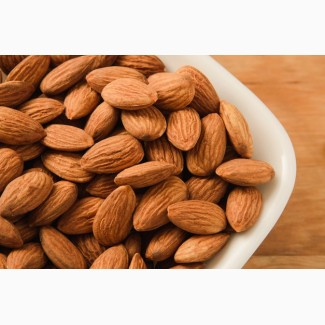 Raw and Roasted Almond nut