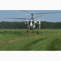 Десикація соняшнику гелікоптером