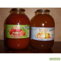 Меняю Сок Яблочный, томатный на стеклобанку 3л., 1л. 0,5 л