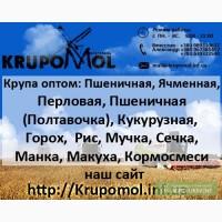Продажа кормосмесей для животных и отходов крупяного производства от производителя