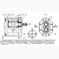 Ремонт насосов шестеренчатых НШ-100 НШ-250