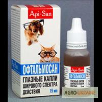Офтальмосан 15мл (для профилактики и лечения инфекционных заболеваний глаз)