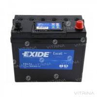 Аккумулятор EXIDE EXCELL 45Ah-12v EB454 (234х127х220)   R, EN330 (Европа)