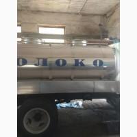Цистерна для молока на шасси заказчика